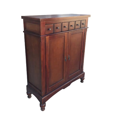 D-Art Colonial Apothecary Storage Cabinet