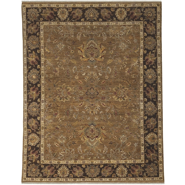Bethany Traditional Hand-knotted Rug - 9' x 12'