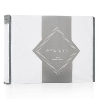 Weekender Fitted Jersey Mattress Protector with Noiseless Waterproof Barrier|https://ak1.ostkcdn.com/images/products/11335372/P18310481.jpg?impolicy=medium