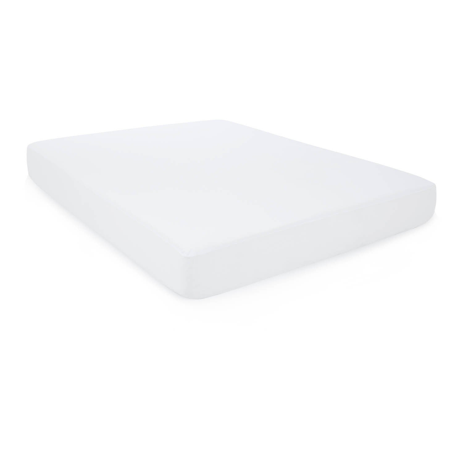 Weekender Fitted Jersey Mattress Protector with Noiseless...