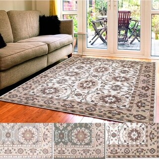 Admire Home Living Catherine Oriental Area Rug (5'3 x 7'3)