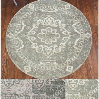 Admire Home Living Catherine Medallion Area Rug (5'3 Round)