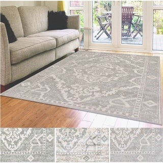 Admire Home Living Catherine Medallion Area Rug (7'10 x 10'2) - 7'10 x 10'2
