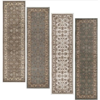 Admire Home Living Plaza Oriental Area Rug (2'2 x 7'7) - 2'2 x 7'7