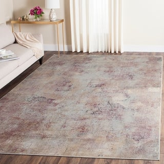 Safavieh Constellation Vintage Watercolor Beige/ Multi Viscose Rug (8' 10 x 12' 2)