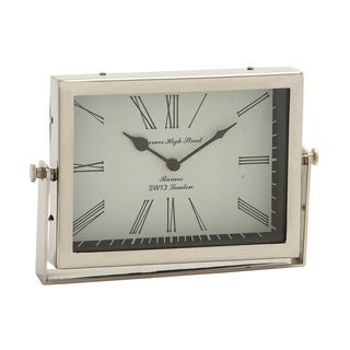 Steel Table Clock