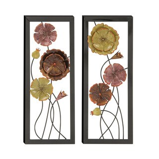 Exquisitely Designed Assorted Metal Wall Decor