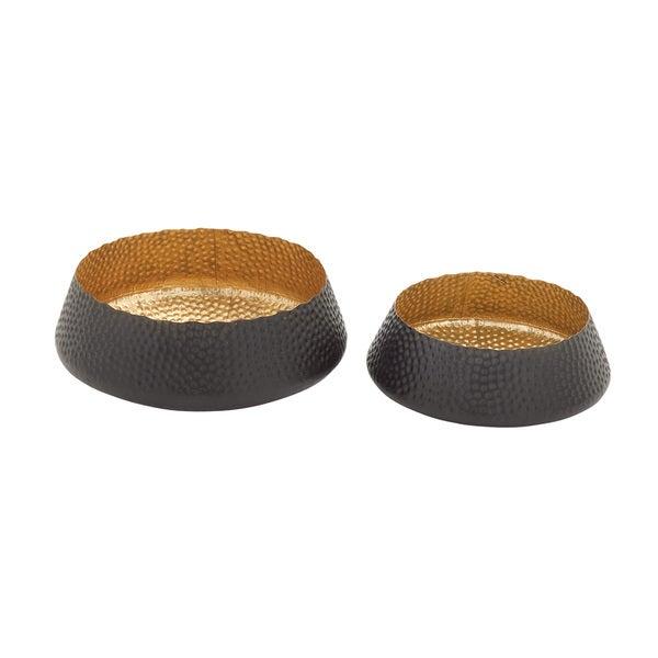 Metal Bowls 14-inch x 16-inch (Set of 2)