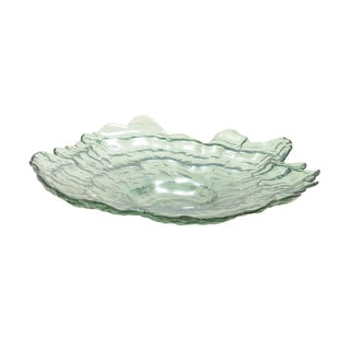 Glass Pearl Bowl 15-inch x 3-inch