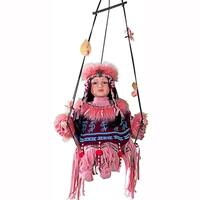Cherish Crafts Little Sunrise 16-inch Porcelain Doll on Swing