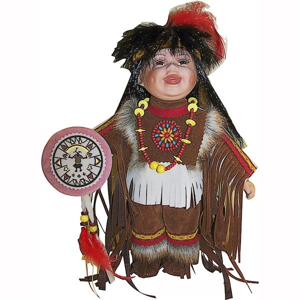 Cherish Crafts Nauq 12-inch Porcelain Doll