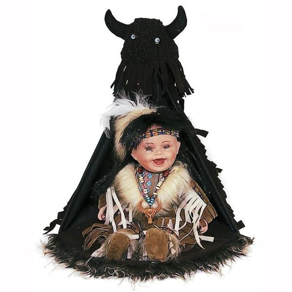 Cherish Crafts Ahiga 12-inch Porcelain Native American Doll