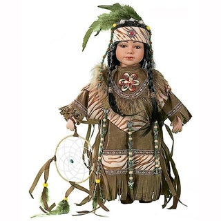 Cherish Crafts Cholena 16-inch Porcelain Native American Doll