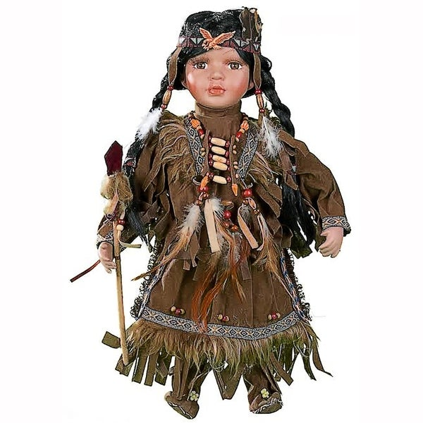 Cherish Crafts Ankti 16-inch Porcelain Native American Doll