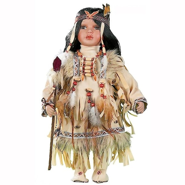 Cherish Crafts Abeytu 16-inch Porcelain Native American Doll