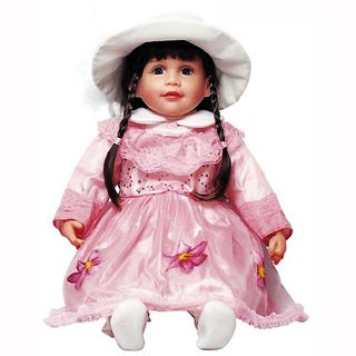 Cherish Crafts Mia 25-inch Musical Vinyl Doll