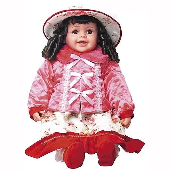 Cherish Crafts Chloe 25-inch Musical Vinyl Doll