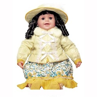 Cherish Crafts Ava 25-inch Musical Vinyl Doll