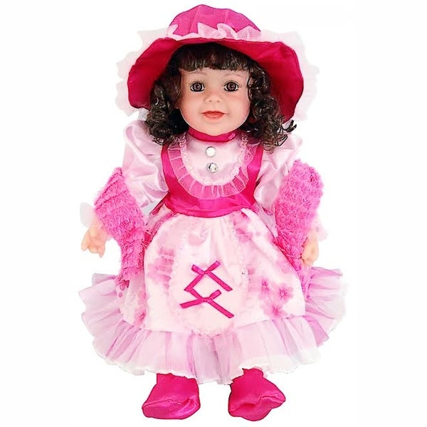 Cherish Crafts Olivia 25-inch Musical Vinyl Doll
