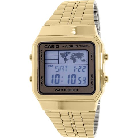 Casio Men's Goldtone Stainless Steel Quartz Watch