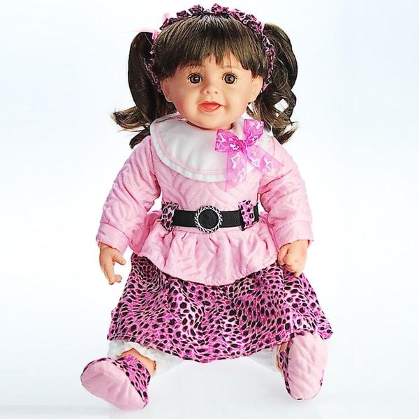 Cherish Crafts Betsy 24-inch Musical Vinyl Doll