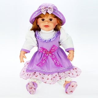 Cherish Crafts Carli 24-inch Musical Vinyl Doll