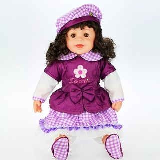 Cherish Crafts Dolly 24-inch Musical Vinyl Doll