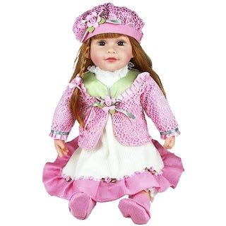 Cherish Crafts Molly 25-inch Musical Vinyl Doll