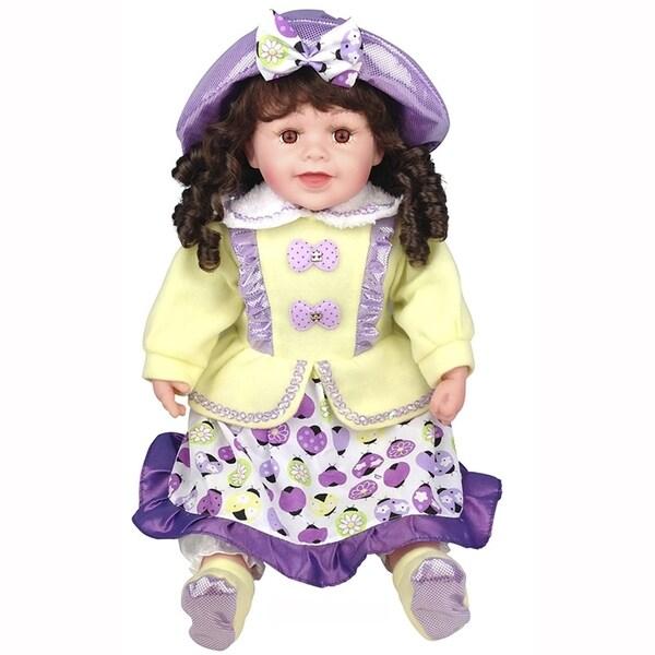 Cherish Crafts Tamie 25-inch Musical Vinyl Doll