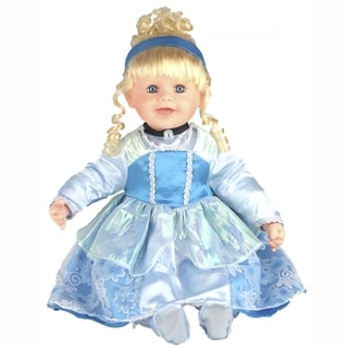 Cherish Crafts Cinderella 25-inch Musical Vinyl Doll
