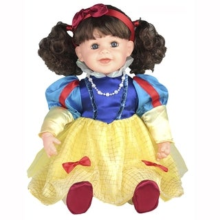 Cherish Crafts Snow White 25-inch Musical Vinyl Doll