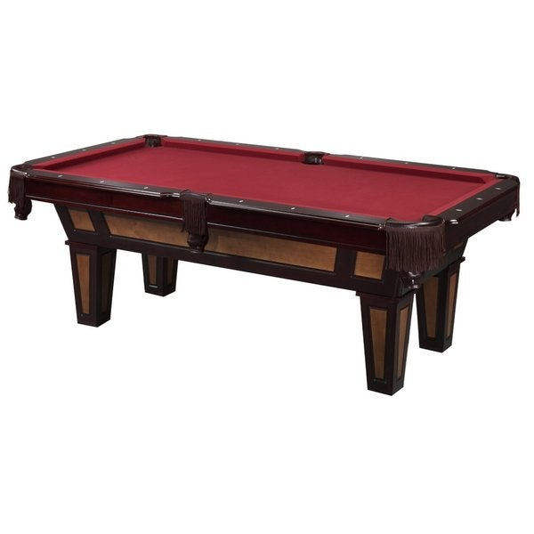 Fat Cat Reno II 7.5-foot Billiard Game Table with Play Package/ Model 64-0126 - Red
