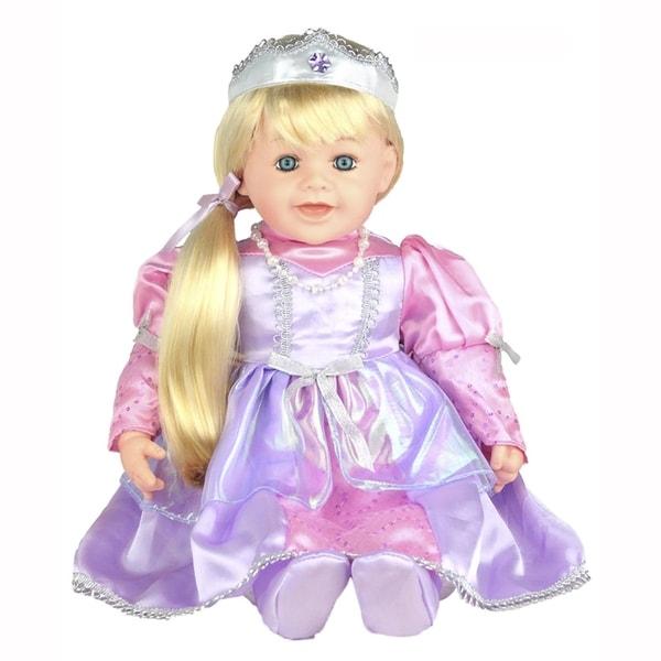 Cherish Crafts Rapunzel 25-inch Musical Vinyl Doll