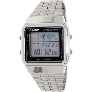 Casio Men's Stainless Steel Classic A500WA-1 Quartz Watch