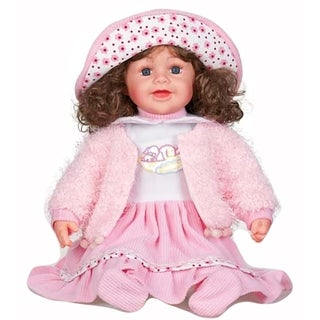 Cherish Crafts Nolia 25-inch Musical Vinyl Doll