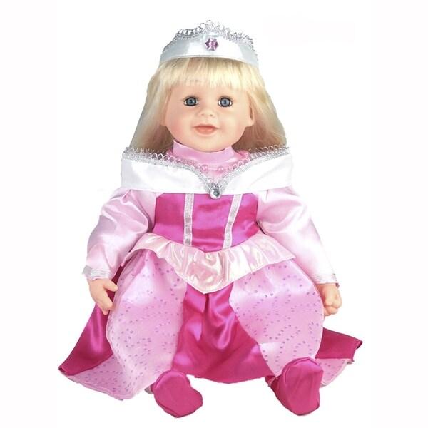 Cherish Crafts Sleeping Beauty 25-inch Musical Vinyl Doll