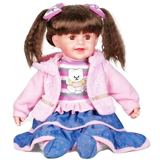 Cherish Crafts Margo 25-inch Musical Vinyl Doll