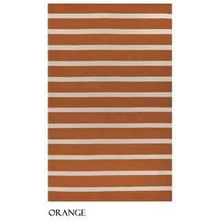 Rizzy Home Azzura Hill Collection Striped Accent Rug (5' x 7'6)|https://ak1.ostkcdn.com/images/products/11336008/P18311023.jpg?impolicy=medium