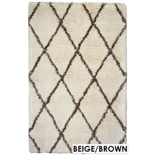 Rizzy Home Connex Collection Polyester Shag Accent Rug (3' x 5) https://ak1.ostkcdn.com/images/products/11336039/P18311035.jpg?impolicy=medium