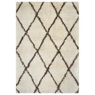 Rizzy Home Connex Collection Polyester Shag Area Rug (9' x 12')|https://ak1.ostkcdn.com/images/products/11336044/P18311038.jpg?impolicy=medium