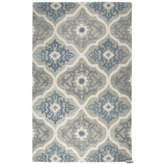 Rizzy Home Leone Collection Medallion Area Rug (5' x 8')