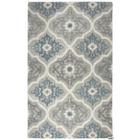 Napoli Collection Medallion Area Rug (5' x 8') - 5' x 8'