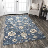 Napoli Collection Floral Area Rug (5' x 8') - 5' x 8'