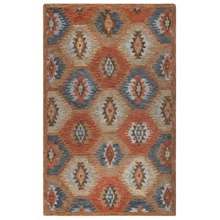 Rizzy Home Leone Collection Tribal Area Rug (5' x 8')