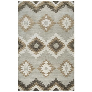 Rizzy Home Leone Collection Southwest Area Rug (8' x 10')
