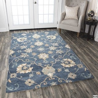 Napoli Collection Floral Area Rug (8' x 10')