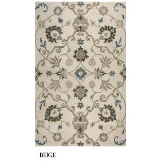 Rizzy Home Leone Collection Floral Area Rug (8' x 10')