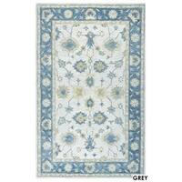 Napoli Collection Border Area Rug (8' x 10') - 8' x 10'
