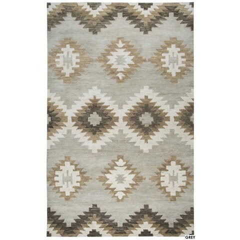 Napoli Collection Southwest Area Rug (9' x 12') - 9' x 12'