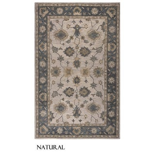 Rizzy Home Leone Collection Border Area Rug (9' x 12')